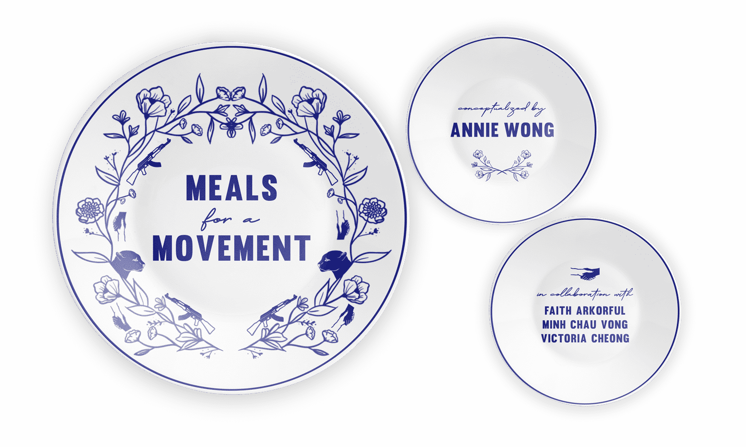 Meals for a Movement: A three-part audio series by Annie Wong in collaboration with Faith Arkorful, Minh Chau Vong and Victoria Cheong.
