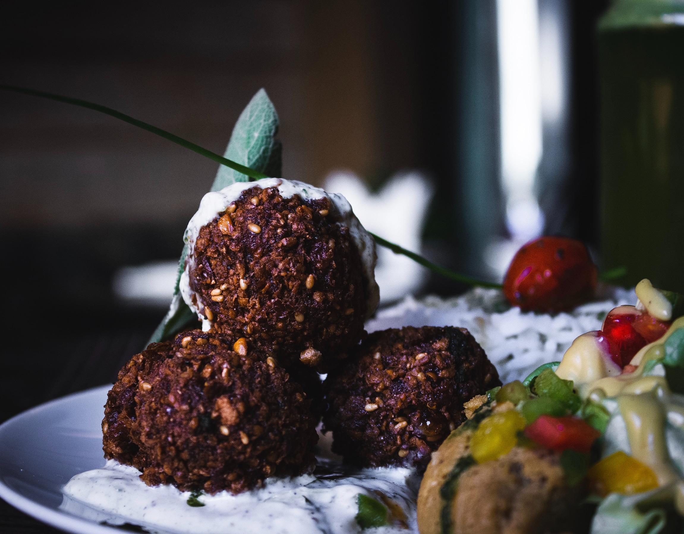 Falafel, courtesy of the writer, Yasmine Dalloul