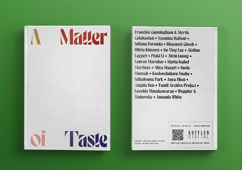A Matter of Taste: Koffler.Digital's Summer 2020 Exhibition on the Politics of Food