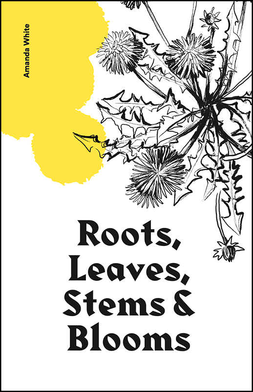 Front cover preview of the zine 'Roots, Leaves, Stems and Blooms' by Amanda White