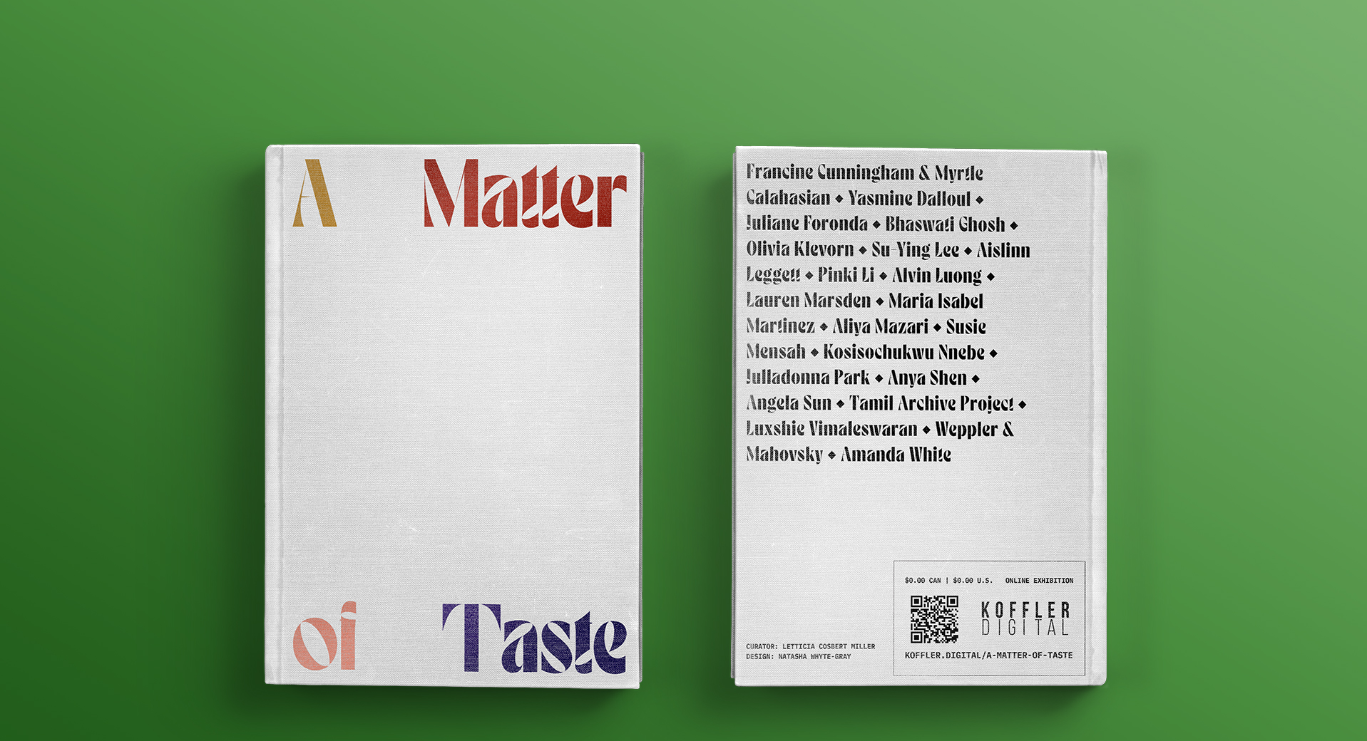 A Matter of Taste: Koffler.Digital's Summer 2020 Exhibition on the politics of food