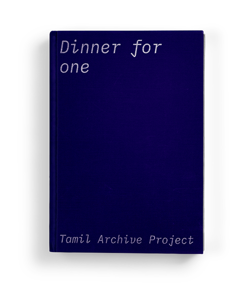 """Dinner for one"" by Tamil Archive Project: Chapter Five of Koffler.Digital's summer 2020 exhibition ""A Matter of Taste"""
